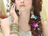 Diy Hairstyles for Engagement Beautiful Girl Indian Bridal Makeup Pinterest