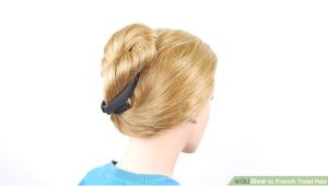 Diy Hairstyles Wikihow 3 Ways to French Twist Hair Wikihow