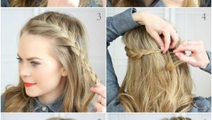 Diy Hairstyles with Open Hair 30 Step by Step Trendy Braided and Open Hairstyles for Young Girls