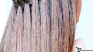 Diy Open Hairstyles Learn How to Do A Waterfall Braid Hair Style