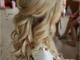Down Do Hairstyles for Wedding Half Up Half Down Curl Hairstyles Partial Updo Wedding
