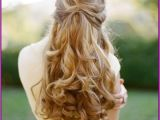 Down Hairstyles for A Party Waterfall Braid with Curls for evening Party Braid Curls
