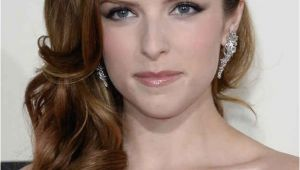 Down Hairstyles for One Shoulder Dresses Anna Kendrick Beautiful People
