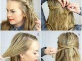 Down Hairstyles No Heat 18 No Heat Hairstyles Hair Styles Pinterest