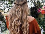 Down Hairstyles School Easy Half Up Half Down Hairstyle Easy Half Up Hairstyle In 1 Min