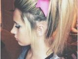 Down Hairstyles with Bows 90 Best Cheer Hairstyles Images