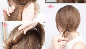 Easy 5 Minute Hairstyles for Long Hair 27 Easy Five Minutes Hairstyles Tutorials Pretty Designs