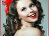 Easy 50s Hairstyles for Long Hair Curly Hairstyles Easy 50s Hairstyles for Long Curly Hair