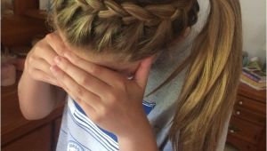 Easy athletic Hairstyles Volleyball Hair Hair Care& Styles