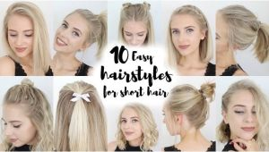 Easy Back to School Hairstyles for Short Hair 17 Easy Back to School Hairstyles