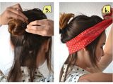 Easy Bandana Hairstyles 16 Beautiful Hairstyles with Scarf and Bandanna Pretty
