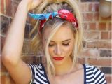 Easy Bandana Hairstyles 20 Gorgeous Bandana Hairstyles for Cool Girls