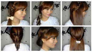 Easy Beginner Hairstyles Studyhaul 6 Super Easy Hairstyles for Beginners