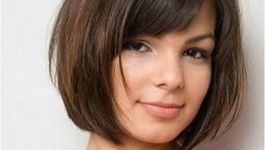 Easy Bob Hairstyles with Bangs 18 Beautiful Short Hairstyles for Round Faces 2016