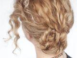 Easy Braided Hairstyles for Curly Hair Easy Curly Braided Bun Tutorial Hair Romance