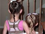 Easy Braided Hairstyles for Little Girls Little Girl's Hairstyles French Braid Twist Around