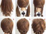 Easy Braided Hairstyles for Medium Length Hair Easy Step by Step Hairstyles for Medium Hair