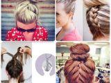 Easy Braided Hairstyles for Medium Length Hair Simple French Braid Updo Hairstyles for Medium Hair Hair