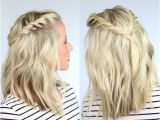 Easy Braided Hairstyles for Shoulder Length Hair Easy Braided Hairstyles Easy Hairstyles with Braids