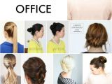 Easy Business Casual Hairstyles 12 Easy Fice Updos Buns Chignons & More for Busy for