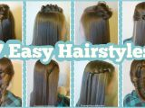 Easy but Cool Hairstyles for School 7 Quick & Easy Hairstyles for School Hairstyles for