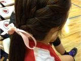 Easy Cheer Hairstyles 104 Best Images About Cheerleading Makeup On Pinterest