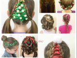 Easy Christmas Party Hairstyles 20 Easy Christmas Hairstyles for Little Girls