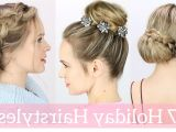 Easy Christmas Party Hairstyles Easy Holiday Party Hairstyles