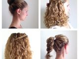 Easy Curling Hairstyles Diy Easy & Simple Hairstyles without Heat