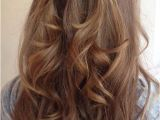 Easy Down Hairstyles for Medium Hair Half Updo Styles All the Stylish La S Should See