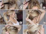 Easy Five Minute Hairstyles for Short Hair Pin by Kiesa Keller On Hair Ideas