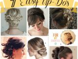 Easy formal Hairstyles Instructions 7 Easy Up Dos for Summer Made to Travel