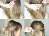 Easy formal Hairstyles Instructions Easy Half Up Prom Hair