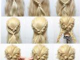 Easy formal Hairstyles Instructions Hair Tutorial Braids Pinterest