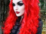 Easy Goth Hairstyles 17 Cool Halloween Hairstyles Tutorials and Iconic