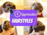 Easy Gymnastic Hairstyles Gymnastics Hairstyles