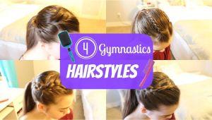 Easy Gymnastics Hairstyles Gymnastics Hairstyles