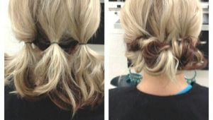 Easy Hairstyles at Home for Medium Length Hair Updo for Shoulder Length Hair … Lori