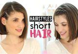 Easy Hairstyles by Patry Jordan Hairstyles for Short Hair Tutorial