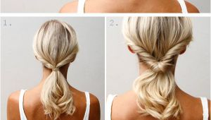 Easy Hairstyles Can Be Made at Home 10 Quick and Pretty Hairstyles for Busy Moms Beauty Ideas