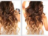 Easy Hairstyles Curling Iron ☆ Big Fat Voluminous Curls Hairstyle How to soft Curl