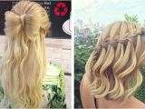 Easy Hairstyles Down for Long Hair 31 Half Up Half Down Prom Hairstyles