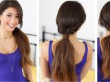 Easy Hairstyles Extensions Quick and Effortless Ponytail Hairstyle with Luxy Hair Extensions