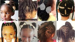 Easy Hairstyles for 11 Year Olds with Short Hair 20 Cute Natural Hairstyles for Little Girls