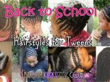 Easy Hairstyles for 5th Grade Tween Zurück Zur Schule Natürliche Frisuren