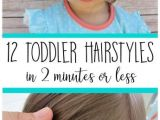 Easy Hairstyles for 8 Year Olds to Do 12 Must Have Easy toddler Hairstyles In Two Minutes or Less