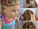 Easy Hairstyles for American Girl Dolls Easy Easter Hair Do for Dolls