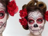 Easy Hairstyles for Curly Hair Youtube Easy Sugar Skull