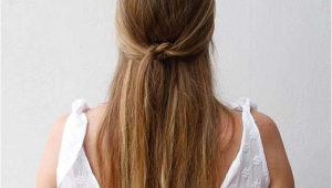 Easy Hairstyles for Knotty Hair 31 Amazing Half Up Half Down Hairstyles for Long Hair