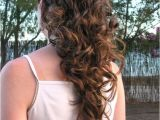 Easy Hairstyles for Long Curly Hair to Do at Home Easy Hairstyles for Curly Hair to Do at Home